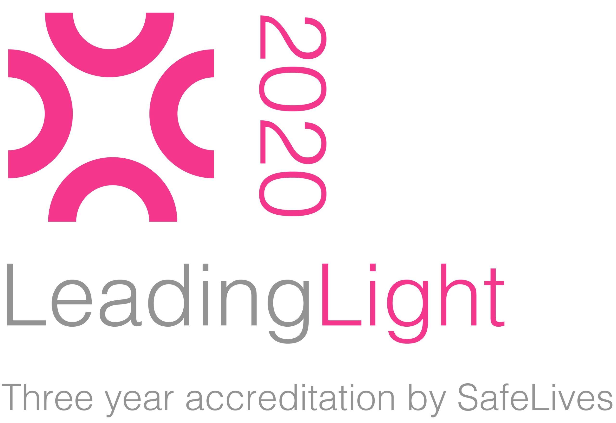 Leading Light accreditation logo 2020